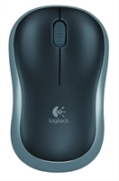 Ratón Logitech Wireless M185 Negro