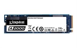 Kingston A2000 M. 2 250Gb Pci Express 3. 0 Nvme