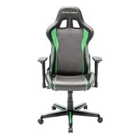 Silla Dxracer F- Series Oh/ Fh08/ Ne Negra- Verde -  . . .
