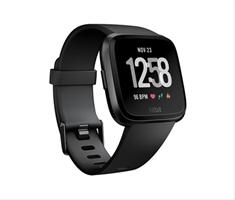 Smartwatch Fitbit Versa Negro Talla S+ L