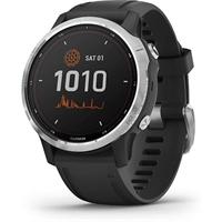 Smartwatch Garmin Fenix 6S Solar Plata/ Negro