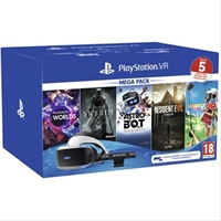 Sony Playstation Vr +  Cámara +  Pack 5 Juegos