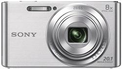 Sony W830 Plata 20 Mpix 8X