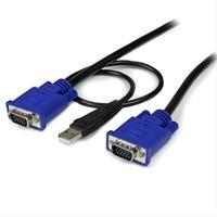 Startech. Com Cable Kvm 4 5M 2 En 1 . . .