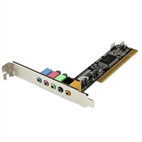 Startech. Com Pci Sound Adapter . . .