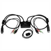 Startech Switch Conmutador Kvm 2 . . .