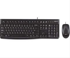 Teclado Logitech Desktop Mk120 Us