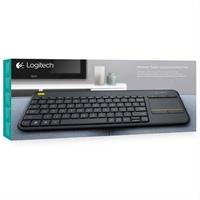 Teclado Logitech Wireless Touch Kbd K400 Plus . . .