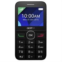 Teléfono Móvil Alcatel 20. 08G Negro Y Blanco