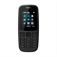Teléfono Móvil Nokia 105 1. 8´´ Negro