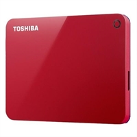 Toshiba Canvio Advance 2Tb Red
