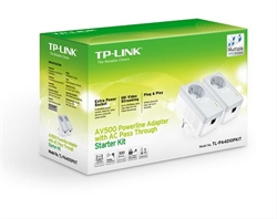 Tp- Link Kit De Inicio Con Adaptadores Powerline . . .