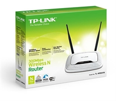 Tp- Link Router Inalámbrico N A 300 . . .