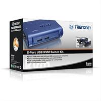 Trendnet 2 Port Usb Kvm Switch Kit . . .