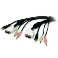 Startech Cable Kvm Usb Dvi  4 En 1 . . .
