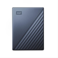 Wd My Passport Ultra 4Tb Blue     . . .